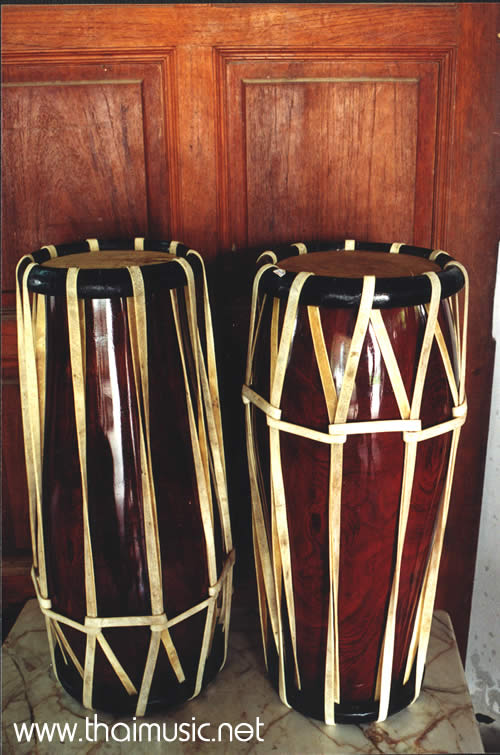Thai Style Drum, the Kong Kaak or Glawng Khaek